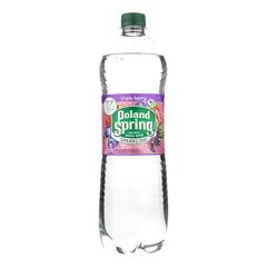 HGR2254381 - Poland Spring - Natural Spring Water Sparkling - Case of 12 - 33.8 FZ