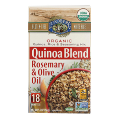 HGR2260388 - Lundberg Family Farms - Quinoa, Rice and Seasoning Mix Rosemary and Olive Oil Case of 6 5.50 oz.