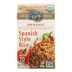 HGR2260479 - Lundberg Family Farms - Rice and Seasoning Mix Spanish Style Case of 6 5.50 oz.
