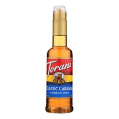 HGR2271021 - Torani - Coffee Syrup - Caramel - Case of 4 - 12.7 fl oz..