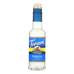 HGR2271310 - Torani - Coffee Syrup - Sugar Free Vanilla - Case of 4 - 12.7 fl oz..