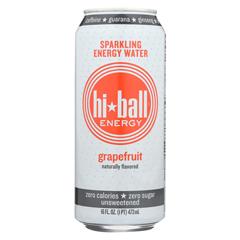 HGR2273548 - Hi Ball - Energy Sparkling Energy Water - Grapefruit - Case of 1 - 8/16 fl oz..