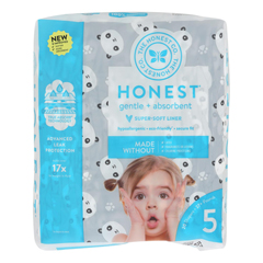 HGR2303014 - The Honest Company - Diapers Size 5 - Pandas - 20 Count