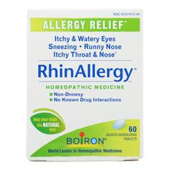 HGR2314342 - Boiron - RhinAllergy Allergy Relief - 60 Tablets