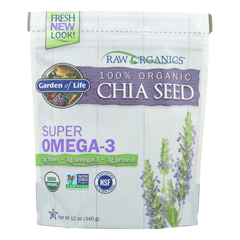 HGR2314763 - Garden of Life - Raw Organics Chia Seed - 12 oz.