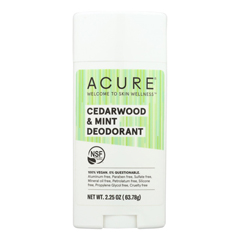 HGR2328250 - Acure - Deodorant - Cedarwood and Mint - 2.25 oz.