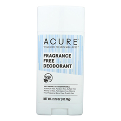 HGR2328276 - Acure - Deodorant - Fragrance Free - 2.25 oz.
