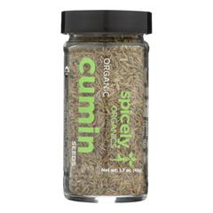 HGR2348001 - Spicely Organics - Organic Cumin Seeds - Whole - Case of 3 - 1.7 oz..
