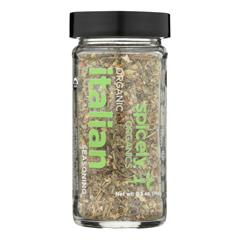 HGR2348092 - Spicely Organics - Organic Italian Seasoning - Case of 3 - 0.5 oz..