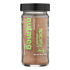 HGR2348134 - Spicely Organics - Organic Nutmeg - Ground - Case of 3 - 1.9 oz..
