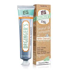 HGR2354900 - Dr. Ginger's - White Charcoal Toothpaste - 4 oz..