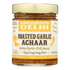 HGR2468320 - Brooklyn Delhi - Roasted Garlic Achaar Chili Sauce - Case of 6 - 9 oz.