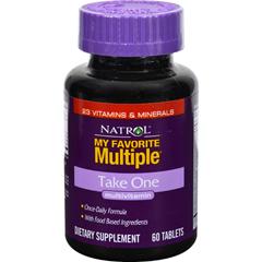 HGR0285049 - NatrolMy Favorite Multiple Take One - 60 Tablets