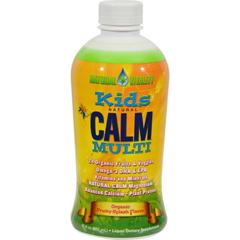 HGR0291252 - Natural Vitality - Kids Natural Calm Multi Fruity Splash - 30 fl oz