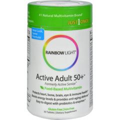 HGR0314013 - Rainbow Light - Active Senior Multivitamin - 30 Tablets