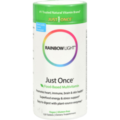 HGR0370247 - Rainbow LightJust Once Food-Based Multivitamin - 120 Tablets
