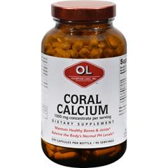 HGR0382119 - Olympian LabsCoral Calcium - 1 g - 270 Capsules