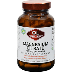 HGR0388942 - Olympian LabsMagnesium Citrate - 400 mg - 100 Capsules