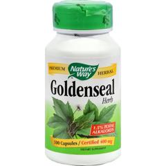 HGR0392506 - Nature's Way - Goldenseal Herb - 100 Capsules