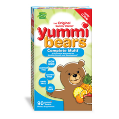 HGR0394213 - Hero Nutritional ProductsYummi Bears Multi-Vitamin and Mineral Fruit - 90 Gummies