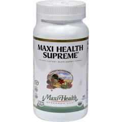 HGR0423095 - Maxi Health Kosher VitaminsMaxi Health Supreme Vit and Min - 180 Tablets