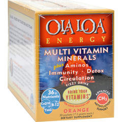 HGR0428037 - Ola Loa ProductsEnergy Multi Vitamin - Orange - 30 Packet