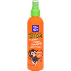 HGR0456657 - Kiss My Face - Kids Detangler Creme Orange U Smart - 8 fl oz
