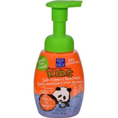 HGR0456681 - Kiss My Face - Kids Hand Wash Self-Foaming Orange U Smart - 8 fl oz