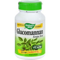 HGR0479907 - Nature's Way - Glucomannan Root - 100 Capsules