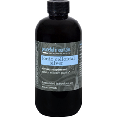 HGR0483784 - Peaceful MountainIonic Colloidal Silver - 6 fl oz