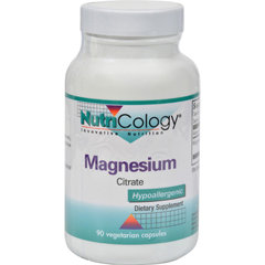HGR0524751 - NutricologyNutriCology Magnesium Citrate - 170 mg - 90 Capsules