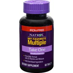 HGR0534560 - NatrolMy Favorite Multiple Take One No Iron - 60 Tablets