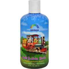 HGR0562785 - Rainbow ResearchOrganic Herbal Bubble Bath For Kids Berry Banana Blast - 12 fl oz