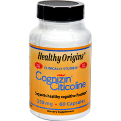 HGR0579359 - Healthy OriginsCognizin Citicoline - 250 mg - 60 Capsules