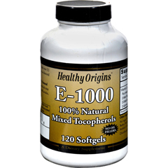 HGR0626010 - Healthy OriginsE-1000 - 1000 IU - 120 Softgels