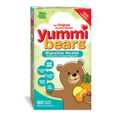 HGR0635169 - Hero Nutritional ProductsYummi Bears Fiber Supplement for Kids - 60 Gummies