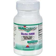 HGR0648931 - NutricologyNutriCology Biotin 5000 - 60 Capsules