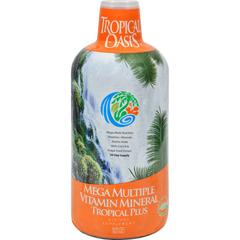 HGR0660753 - Tropical OasisTropical Plus Mega Multiple Vitamn Mineral - 32 fl oz
