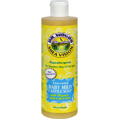 HGR0667865 - Dr. WoodsShea Vision Pure Castile Soap Baby Mild with Organic Shea Butter - 16 fl oz