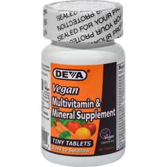 HGR0684209 - Deva Vegan VitaminsMultivitamin and Mineral Supplement - 90 Tiny Tablets