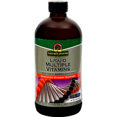 HGR0709261 - Nature's AnswerLiquid Multiple Vitamins - 16 fl oz