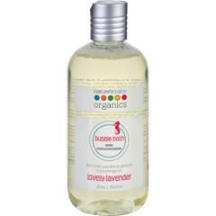 HGR0760629 - Nature's Baby OrganicsBubble Bath - Moisturizing - Lovely Lavender - 12 oz