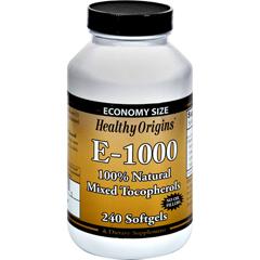 HGR0774026 - Healthy OriginsE-1000 - 1000 IU - 240 Softgels