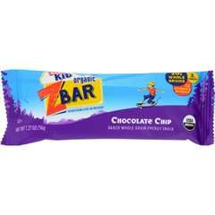 HGR0807917 - Clif BarZbar - Organic Chocolate Chip - Case of 18 - 1.27 oz