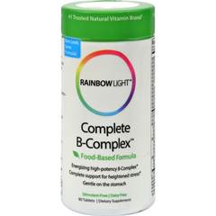 HGR0813709 - Rainbow LightComplete B-Complex - 90 Tablets