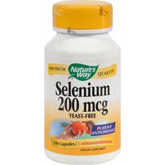 HGR0815969 - Nature's WaySelenium - 200 mcg - 100 Capsules
