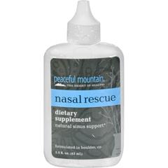 HGR0850370 - Peaceful MountainNasal Rescue - 1.5 fl oz