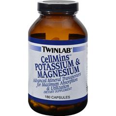 HGR0871962 - TwinlabCellMins Potassium and Magnesium - 180 Capsules