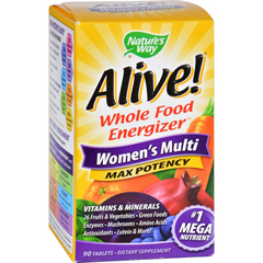 HGR0957282 - Nature's WayAlive Womens Multi - 90 Tablets