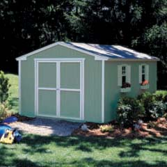 HHS18285-3 - Handy Home ProductsCumberland - 10' x 16' Storage Building Kit